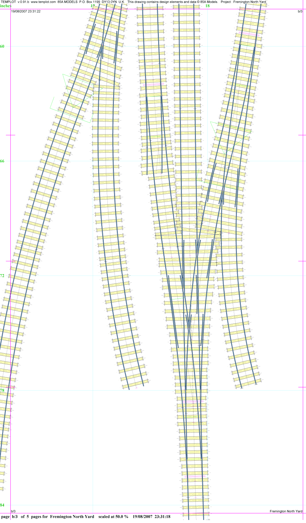 It is a graphic of Unforgettable Printable N Scale Track Template
